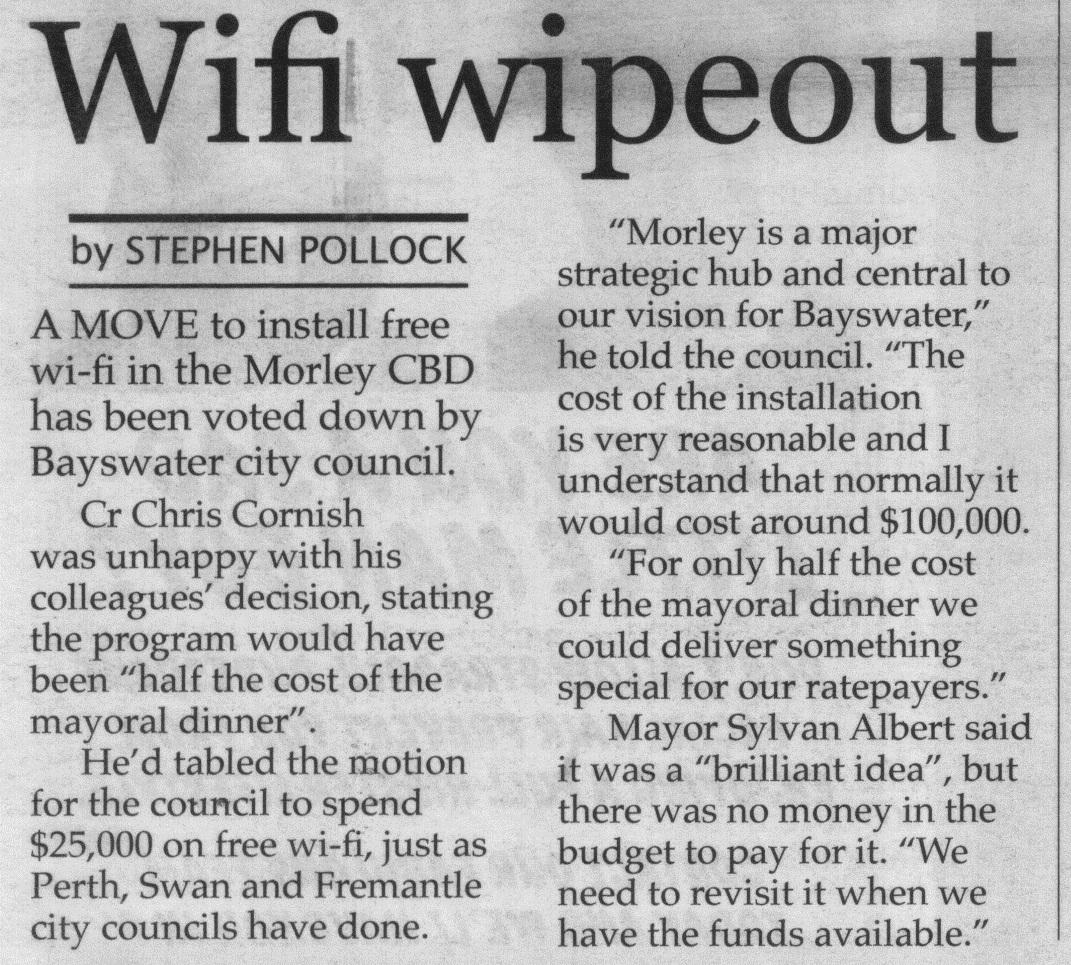 Wi-Fi Wipeout